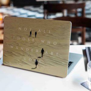 Not all who wanders Laptop Skin