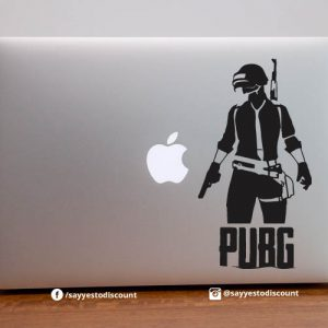 PUBG with Soldier Laptop Decal