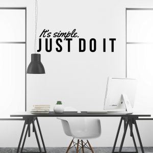 Just do it Wall Decal