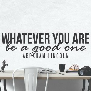 Abraham Lincoln Quote Wall Decal