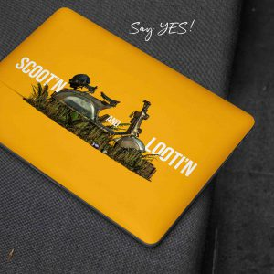 Scootin and Lootin PUBG Laptop Skin
