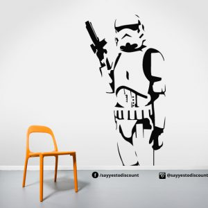 Storm Trooper Wall Decal