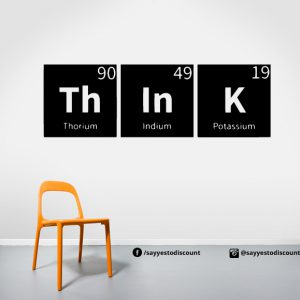 Think Science Wall Decal