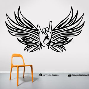 Wings Hands Wall Decal