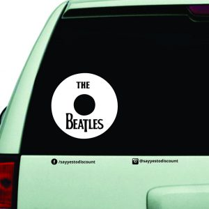 Beatles Car Decal