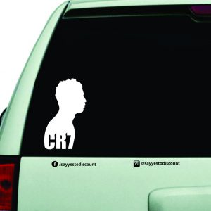Cr7 Decal