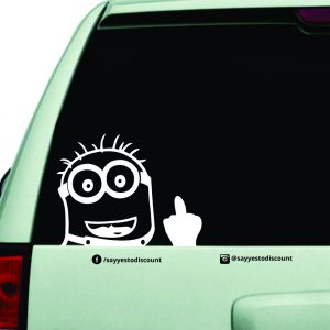 Minion Car Decal