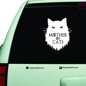 Mother of Cats Car Decal