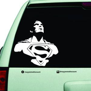 superman Car Decal