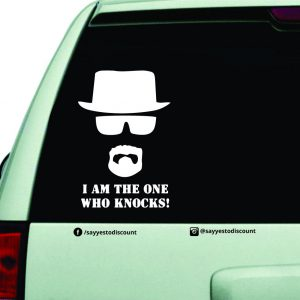 who-knocks Car Decal
