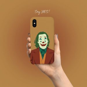 Joker Face Mobile Cover