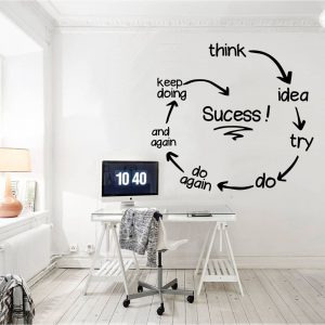 Success Circle Wall Decal