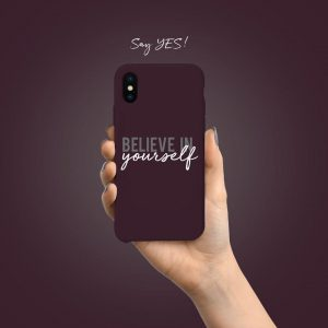 Believe In Yourself Mobile Cover