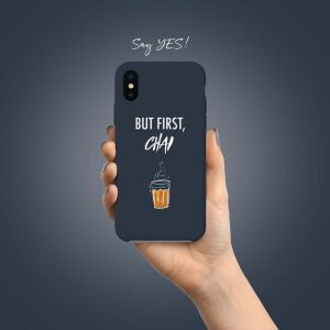 But First Chai Mobile Cover