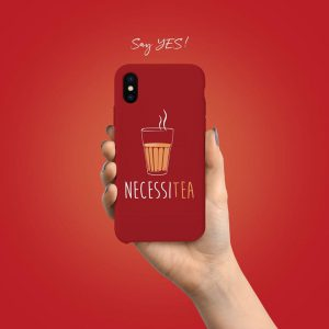 Necessitea Mobile Cover