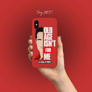 Old age isn't for me Mobile Cover
