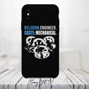 Religion Engineer Caste Mechanical Mobile Cover