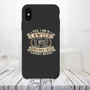 Yes I Am A Lawyer Mobile Cover