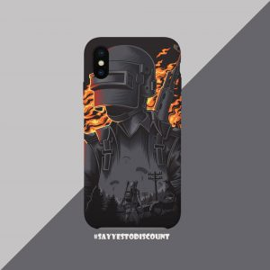 PUBG Printed Back Mobile Cover