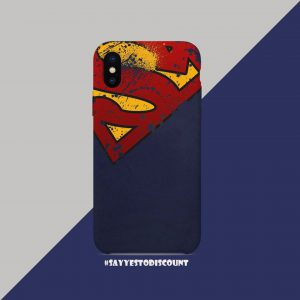 Superman Logo Mobile Back Cover
