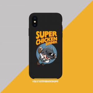 SUPER CHICKEN DINNER MOBILE COVER