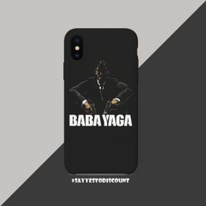 BABA YAGA MOBILE BACK COVER