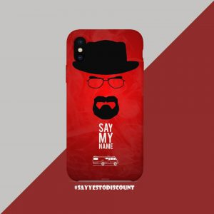 SAY MY NAME MOBILE BACK COVER