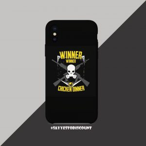 WINNER CHICKEN DINNER MOBILE COVER