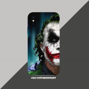 Joker Face Mobile Back Cover