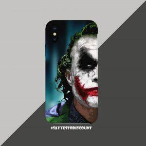 Joker Face Mobile Back Cover