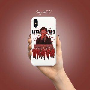 LA CASA DE PAPEL MOBILE COVER