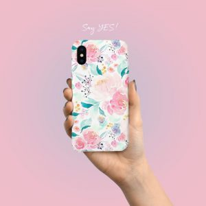 Pink Blossom Mobile Cover