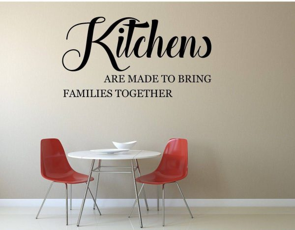 KITCHENS ARE MADE TO BRING FAMILIES TOGETHER