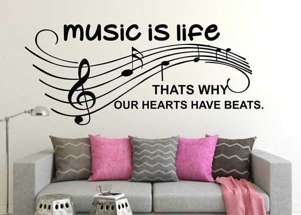 music is life THATS WHY OUR HEARTS HAVE BEATS