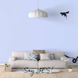 Rat & Cat Wall Decal