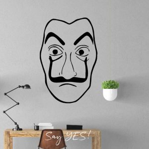 Face Wall Decal