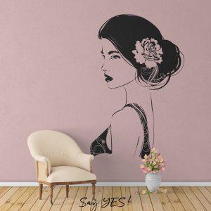 Women Sketch Wall Decal