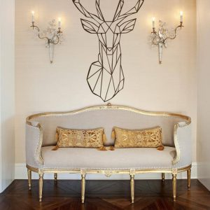 The Art Deer Wall Vinyl Wall Decal