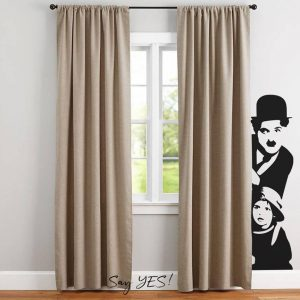 Charlie Chaplin Wall Decal