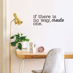 If there is no way Wall Decal