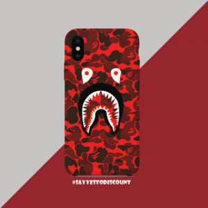 Red Bape Mobile Cover