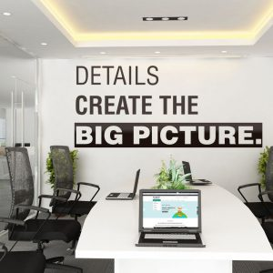 Details Create the Big Picture Wall Decal
