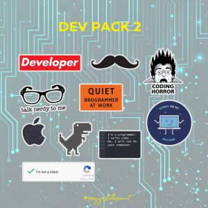 Developer Stickers Pack