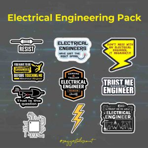 Electrical Engineering Stickers Pack