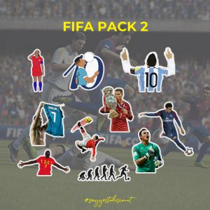 Fifa Football Players Stickers Pack
