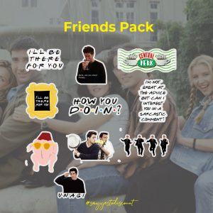 Friends Stickers Pack