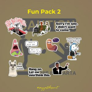 Funny Stickers Pack