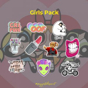 Girls Stickers Pack