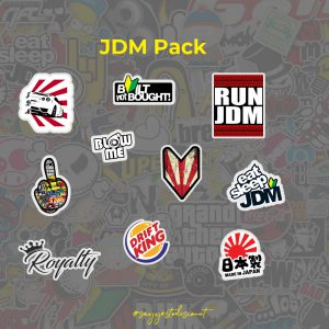JDM Stickers Pack