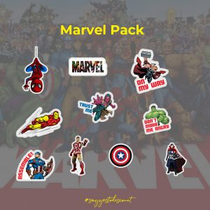 Marvel Heroes Avengers Stickers Pack
